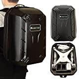 HOBBYTIGER Backpack Hard Case for DJI Phantom 4 DJI Phantom 3 Professional and Advanced Travel Carrying from Hobbytiger