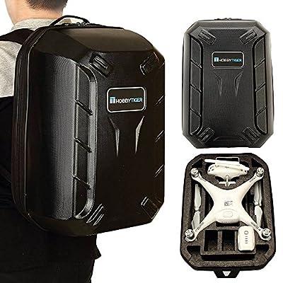 HOBBYTIGER Backpack Hard Case for DJI Phantom 4 DJI Phantom 3 Professional and Advanced Travel Carrying from Hobbytiger