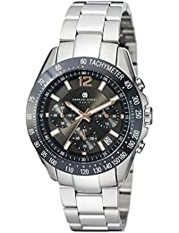 Charles-Hubert, Paris Men's 3976-B Premium Collection Analog Display Japanese Quartz Silver Watch
