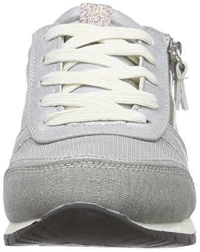 TOM TAILOR Tom Tailor Damenschuhe Damen Sneakers Silber (Silver)