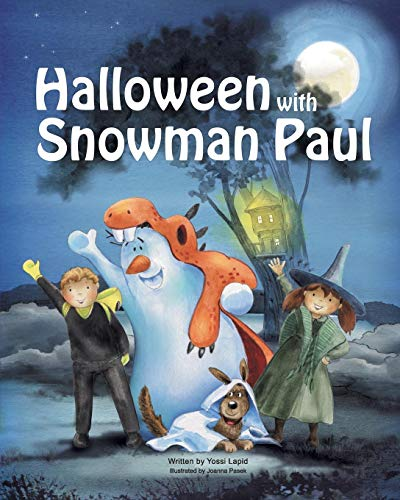 Halloween with Snowman Paul (Snowman Paul Book Series, Band 6)