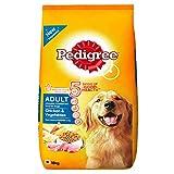 #8: Pedigree Adult Dog Food Chicken & Vegetables, 15 kg Pack