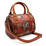 Karactermania Harry Potter Railway-Chest Handbag (Small) Sac bandoulière, 25 cm, Marron (Brown)