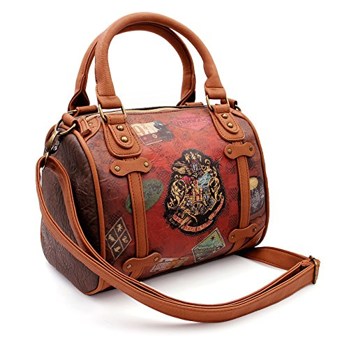 Karactermania Harry Potter Railway-Chest Handbag (Small) Umhängetasche, 25 cm, Braun (Brown)