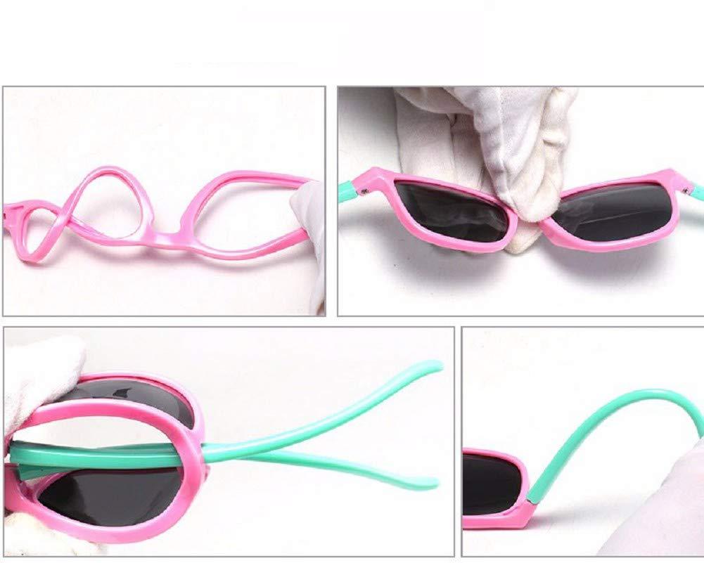Flyfish Gafas de sol geniales para niños Gafas de sol para niños Niños Chicas Sunglass UV 400 Protección con estuche… 3
