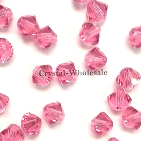 Cristallo Swarovski perline bicono 5328/53016mm Rose (209)