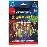 Cello Buttergel Superheroes Gel Pen Set - Pack of 10 (Blue)