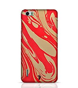 Stylebaby Cases and Covers for Boys Hand Drawn Marbling Illustration 2 Back Cover for Huawei Honor 6 Multicolor