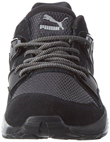 Puma Unisex-Erwachsene Blaze Low-Top Schwarz (puma black-puma black 01)