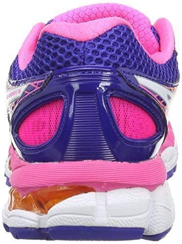 Damen White Gel Outdoor Blue Fitnessschuhe Nimbus 16 Pink Neon Mehrfarbig True ASICS tfwdxzqz