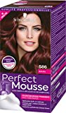 Schwarzkopf - Perfect Mousse - Coloration Cheveux - Mousse Permanente sans Ammoniaque - Acajou 586