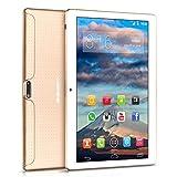 10 pollici Tablet BEISTA Android 7.0- (Processore Quad Core,Capacità 32GB, RAM 2 GB,3G Dual Sim ,Wlan / Wifi,GPS,OTG) -Oro