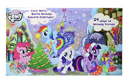Markwins My Little Pony Beauty Adventskalender 2018 mit 24 magischen Überraschungen für Haare, Nägel, Augen, Lippen & vielen Stickern