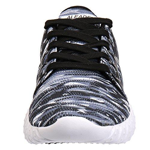 b31ec8b0406414 Scarpe Da Ginnastica Sportive Da Running Leggere Da Donna Aleader Leggere  In Mesh ...