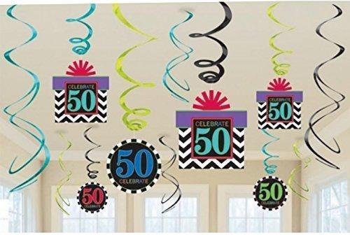 50-cumpleanos-metalizado-decoraciones-de-remolino-chevron-diseno-x-12