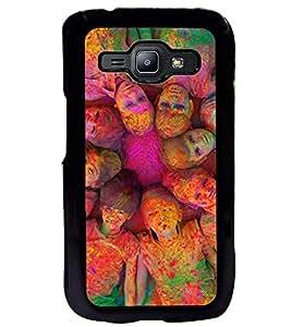 Printvisa Multiple Kids Holi Pic Back Case Cover for Samsung Galaxy J1::Samsung Galaxy J1 J100F