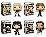 Funko POP! Metallica: James Hetfield + Lars Ulrich + Kirk Hammett + Robert Trujillo - Heavy Metal Band Vinyl Figure Set NEW