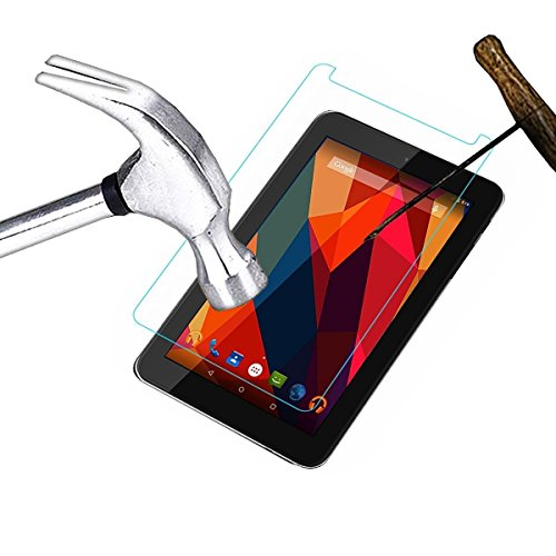 SMM Tempered Glass/Screen Guard/toughened Glass Screen Protector for Micromax Canvas Tab P702