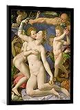 kunst für alle Bild mit Bilder-Rahmen: Agnolo di Cosimo Bronzino An Allegory with Venus and Cupid, c.1540-50