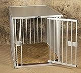 Callieway Cage pour Chien en Aluminium DOGBOX/Cage pour Chien en Aluminium pour...
