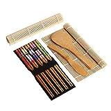 Descrizione:Questo salvaspazio piccolo tappetino è il miglior prodotto potete utilizzare per rendere tradizionale sushi Rolls, realizzati in bambù e corda lo rende un articolo semplice e chiaro che rende una grande differenza durante il tentativo di...
