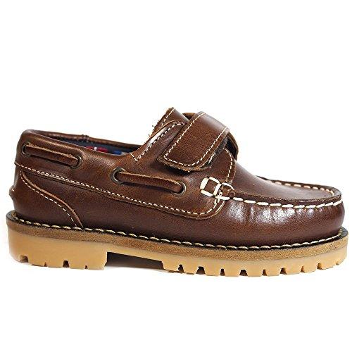 Zapatos NIÑOS LA VALENCIANA 031 Cuero - Color - Cuero