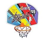 Georgie Porgy Baloncesto de niños aro Soporte Colgante de plástico Chico Deporte Baloncesto Junta Kit (Basketball Stand #336-2, tamaño 40x31cm)