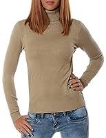 Damen Rollkragen Pullover (weitere Farben) No 13452