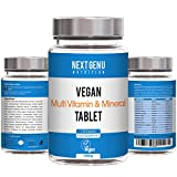 Next Gen U | 120 Daily Vegan Multivitamin & Mineral Tablets 500mg |