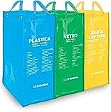 Stupenda BOR02598A Set Borse Ecobags, Multicolore, 50x36.5x3 cm