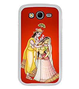 PrintVisa Designer Back Case Cover for Samsung Galaxy Grand 2 :: Samsung Galaxy Grand 2 G7105 :: Samsung Galaxy Grand 2 G7102 :: Samsung Galaxy Grand Ii (Radha Krishna painting Krishna Lela)
