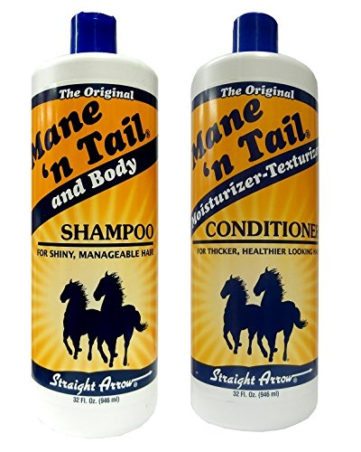 Mane 'n Tail and Body Shampoo 946ml + Moisturizer Texturizer Conditioner 946ml -