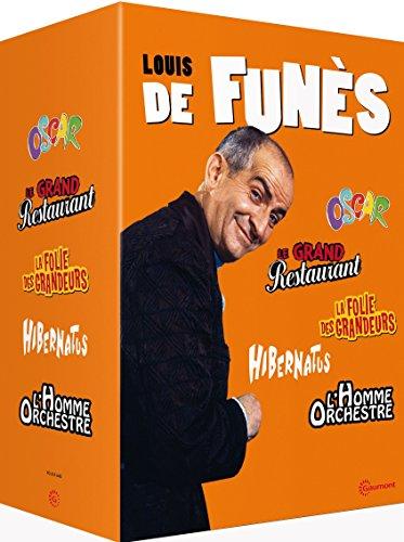 Louis de Funès - Oscar + Le grand restaurant + La folie des grandeurs + Hibernatus + L'homme orchestre [Edizione: Francia]