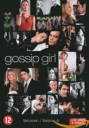 Gossip Girl, saison 6 (import langue française région 2) [Import anglais], Episodes DVD/BluRay