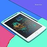 Fighrh Tavoletta LCD per Scrittura con Blocco Memoria Tavoletta Colorata per Scrittura a Mano Tavoletta Elettronica Tavola da Disegno Digitale Tavoletta Grafica LCD per Bambini (Color : Blue)