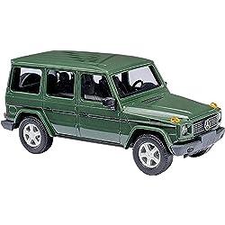 Mercedes classe G, vert foncé, 1990, voiture miniature, Miniature déjà montée, Busch 1:87
