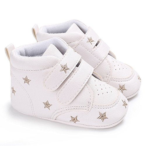 Zapatos bebé, Chicos Muchacha Bordado Hight Corte