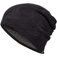 Odlo Mid N-Gage Reversible cálido Gorro, otoño/Invierno, Unisex, Color Black/Odlo Steel Grey, tamaño Talla única