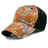 GADIEMENSS Unisex Clothes Women Mens Hats Dem Hat Run Cap Baseball Cap Adjustable Hats Caps Men Hats Summer For Men Caps Cotton Camouflage Caps For Women Camouflage Bucket Hat Mixed Red Brim 1