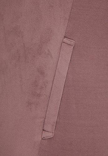 khujo - Hoodie - Uni - Manches Longues Femme Prune