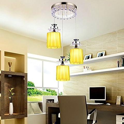 Creative soggiorno lampadari luci led di 3