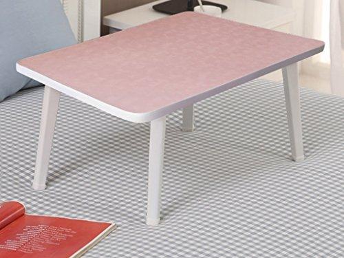 Feifei Pliable Fibreboard Jambes carrées Tables d'ordinateur Portable Table d'apprentissage économiser de l'espace (Couleur : 7)
