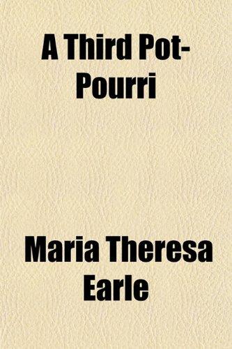 A third pot-pourri