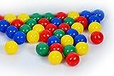 Bällebad Bälle 7cm (500) in Kindergarten & Gewerbequalität Babybälle Plastikbälle ohne gefähliche Weichmacher (TÜV zertifiziert = fortlaufende Prüfungen seit 2012)