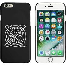 Negro 'Símbolo Celta' Funda / Carcasa para iPhone 6 y 6s (MC00049349)