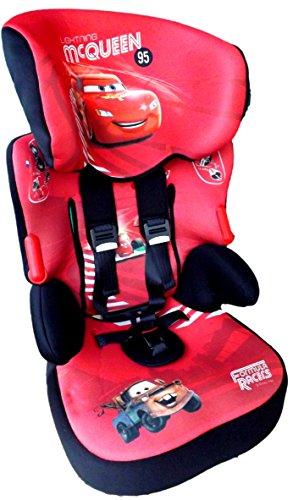 Disney CARS McQUEEN Beline Subli Kindersitz KINDER AUTOSITZ BABY SITZ GRUPPE 1/2/3 9-36kg