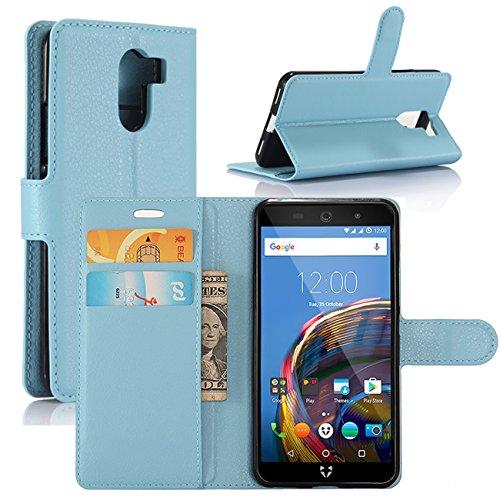 HualuBro-Funda-Wileyfox-Swift-2-Premium-PU-Cuero-Leather-Billetera-Wallet-Carcasa-Flip-Case-Cover-para-Wileyfox-Swift-2-Wileyfox-Swift-2-Plus-Smartphone