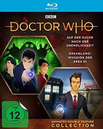 Doctor Who - Animated Double Feature Collection: Dreamland / Auf der Suche nach der Unendlichkeit [Blu-ray]