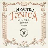 Pirastro Tonica Violín Serie E cadena 4/4 tamaño plateado acero ...