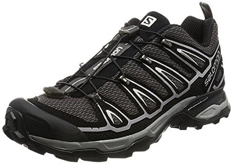 Salomon X Ultra 2, Men Low Rise Hiking Shoes, Black (Autobahn/Black/Steel Grey), 9 UK (43 1/3 EU)